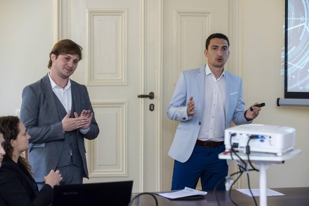 Mario Arabistanov and Christian Nemtsov
