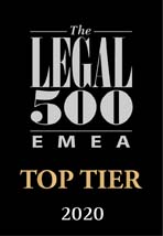 Legal 500 2020 logo